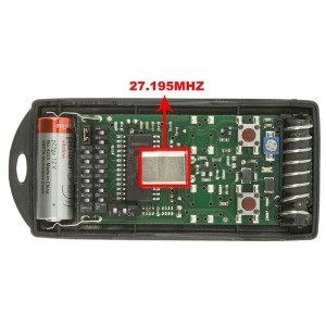 CARDIN S738-TX2 27.195 MHz remote