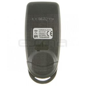 CARDIN TXQ449300 remote