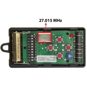 DICKERT MAHS27-04 27.015MHz Remote