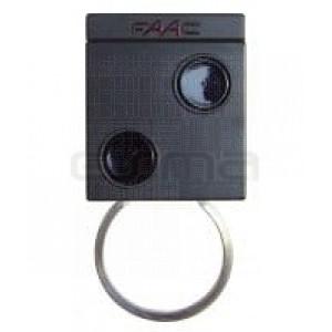 Garage gate remote control FAAC T2 868 SLH
