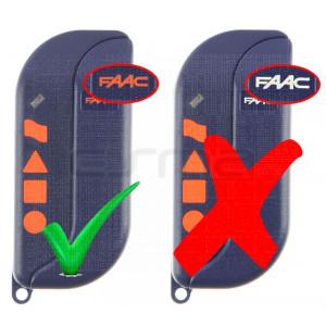 FAAC TML4-433-SLR orange logo