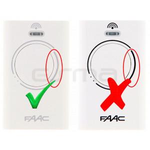 FAAC XT2 433 MHz remote