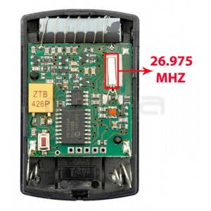 HÖRMANN HSM4 26.975 MHz remote