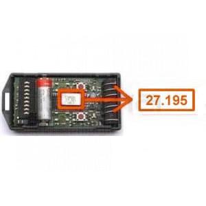 CARDIN S466-TX4 27.195 MHz