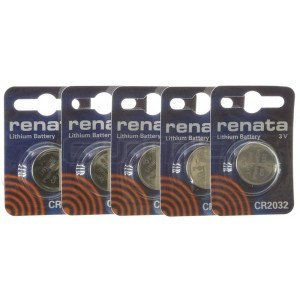 Pack Lithium batteries CR2032