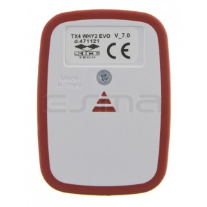 SICE TX4 WHY2 EVO red Remote control