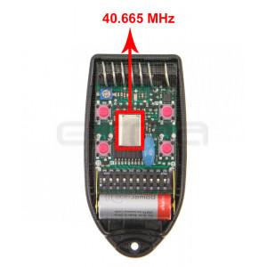TELCOMA FOX4-40.665 MHz Remote control
