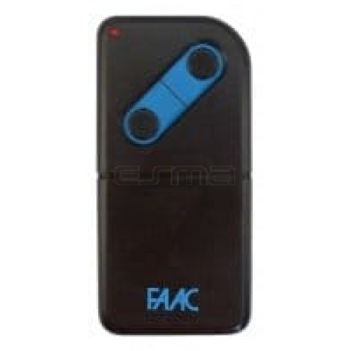 Garage gate remote control FAAC T224-2
