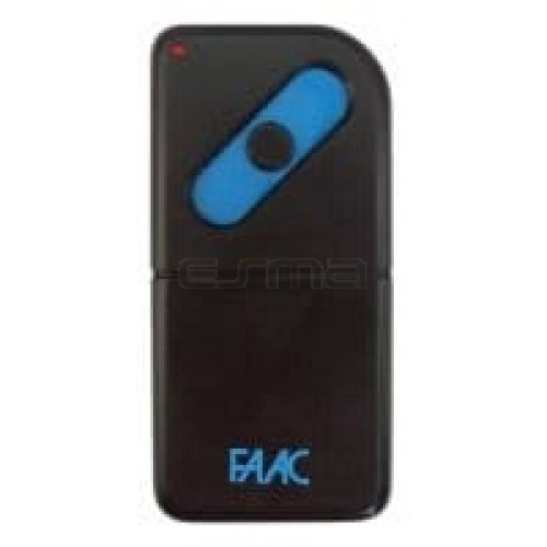 Garage gate remote control FAAC T31-1