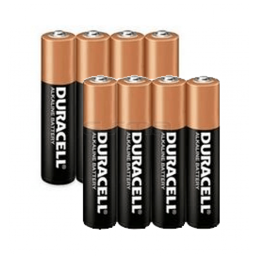Pack Battery Duracell AAA