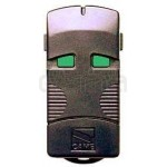 Garage gate remote control CAME TOP302M black