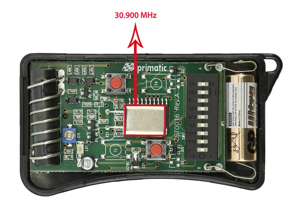 Remote control Aprimatic