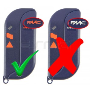 FAAC TML433SLR orange logo