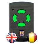 HÖRMANN HSM4 26.995 MHz Gate remote